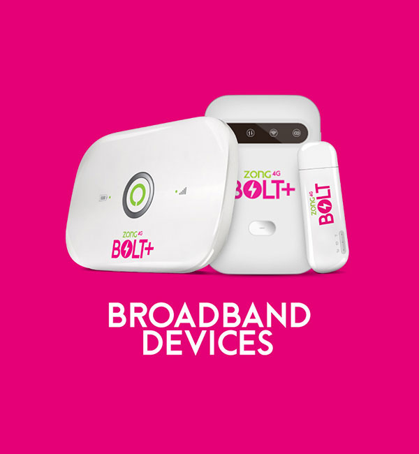 zong mbb devices