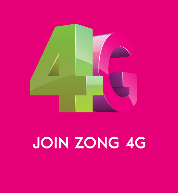 Join Zong 4G